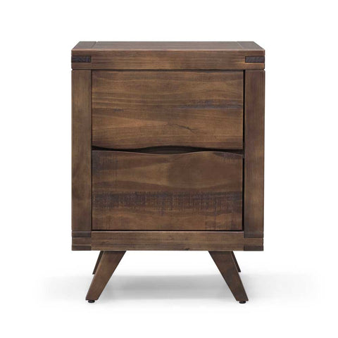Ravenna Night Stand - Rustic Brown
