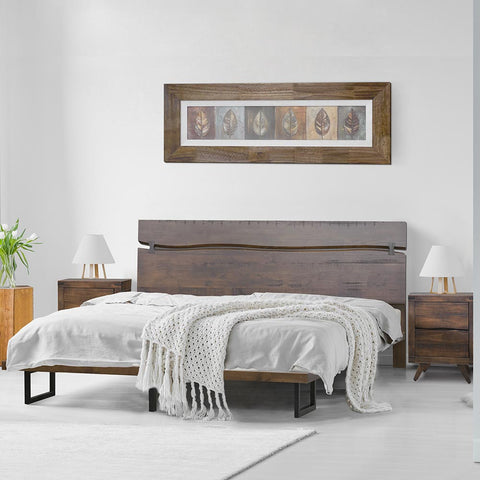 Ravenna Bed Rustic Brown