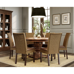 "Filomena 63"" Round Dining Set - Artefama Furniture"