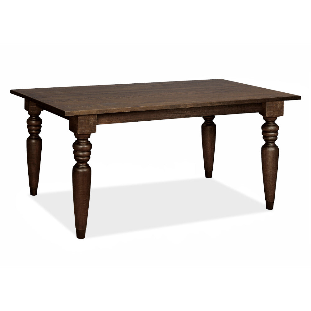 "Flora Dining Table with 4"" Turning Legs - Artefama Furniture"