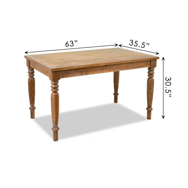 "Linda 63"" Dining Table"