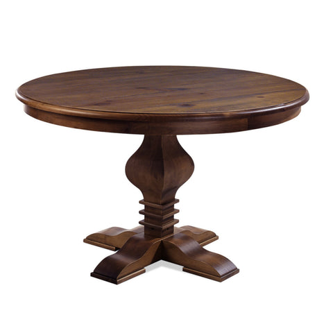 "Tower 47"" Round Dining Table Cinnamon - Artefama Furniture"