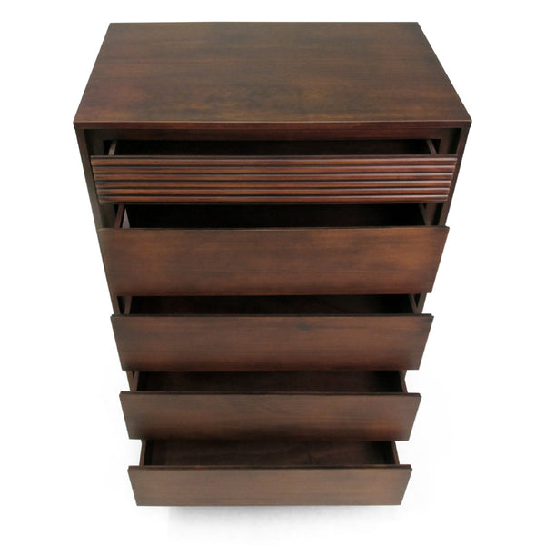 Vienna 5 Drawers Chest Cinnamon - Artefama Furniture