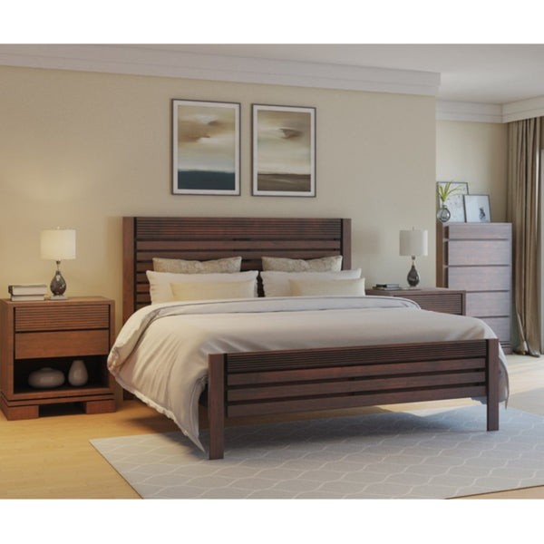 Vienna Bed Cinnamon - Artefama Furniture