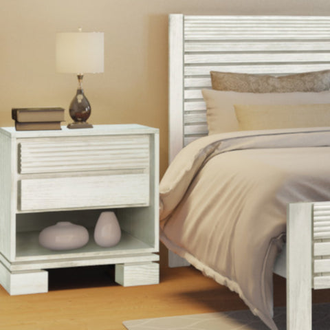 Vienna Night Stand Off White - Artefama Furniture