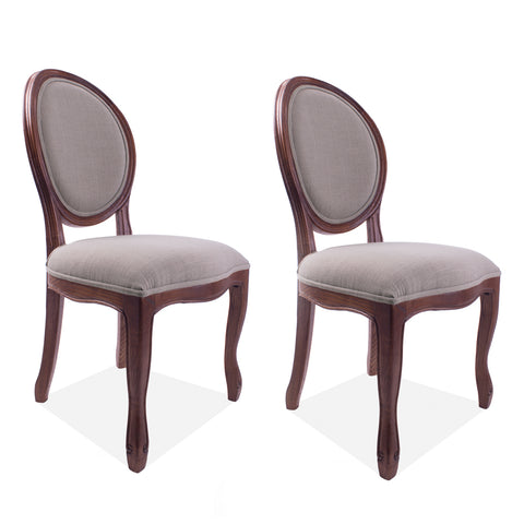 Medallion Side Chair Cinnamon, Set of 2