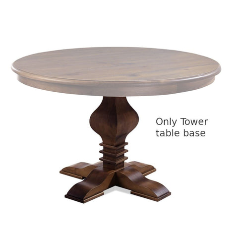 Tower Round Dining Table's Base Cinnamon