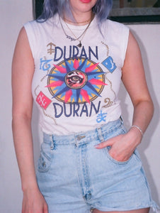 Vintage 1984 Duran Duran Seven and the Ragged Tiger Tour Tank - Size Extra Small/Small