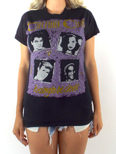Vintage 80s Culture Club Kissing to be Clever Tee Size Small