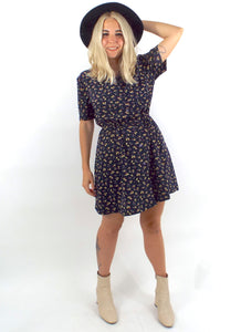 Vintage 90s Buttondown Cinched Waist Shirt Dress