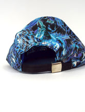 Load image into Gallery viewer, Vintage 90s Blue Animal Print Hat
