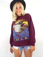 Load image into Gallery viewer, Vintage 90s Burgundy Harley-Davidson Eagle Sweatshirt