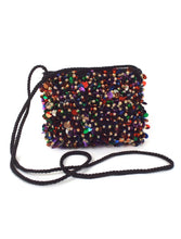 Load image into Gallery viewer, Party Girl Vintage Beaded and Sequined Crossbody Mini Purse
