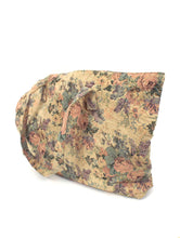 Load image into Gallery viewer, Vintage 90s Large Pastel Floral Print Tapestry-Style Tote Bag