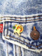 Load image into Gallery viewer, Vintage 70s Rainbow Pegasus Enamel Pin