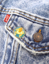 Load image into Gallery viewer, Vintage 70s Round Pegasus Enamel Pin