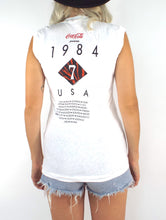 Load image into Gallery viewer, Vintage 1984 Duran Duran Seven and the Ragged Tiger Tour Tank - Size Extra Small/Small
