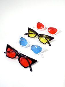 Donna Cat Eye Sunglasses - Color Lenses