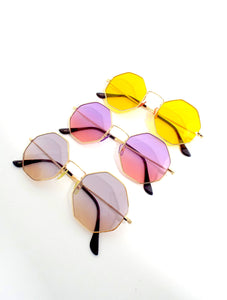 Summer of '69 Round Ombre Sunglasses