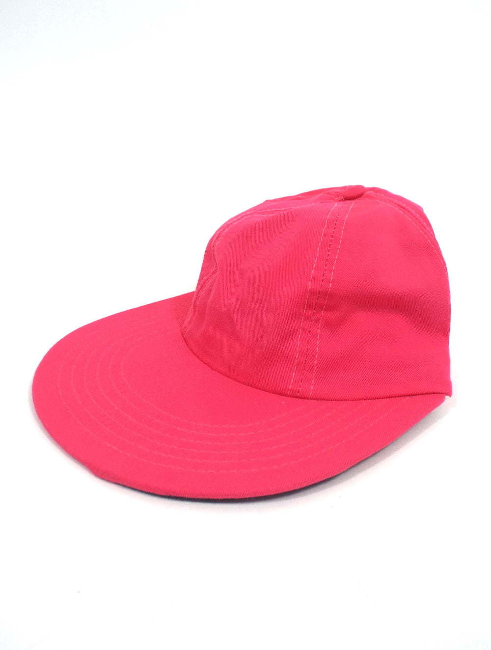 Vintage 90s Hot Pink Dad Hat