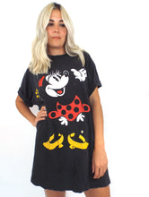 Load image into Gallery viewer, Vintage 90s Oversized Distressed Minnie Mouse Tee