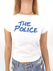 Vintage 80s The Police Sleeveless Sweatshirt