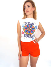 Load image into Gallery viewer, Vintage 70s High-Waisted Orange Gym Shorts -- Size Extra Small/Small