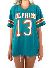 Load image into Gallery viewer, Vintage 80s Miami Dolphins Jersey Tee