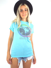 Load image into Gallery viewer, Vintage Baby Blue Queen Tee -- Size Extra Small