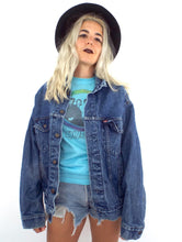Load image into Gallery viewer, Vintage 80s Oversized Medium Wash Levi's Denim Jacket