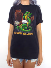 Load image into Gallery viewer, Vintage 80s Eagle Has Landed Harley-Davidson Dragon Tee
