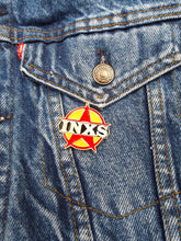Load image into Gallery viewer, Vintage 80s Deadstock INXS Enamel Pin