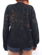 "Load image into Gallery viewer, Vintage 80s Bleach Splattered Harley-Davidson ""Born in the USA"" Eagle Sweatshirt"