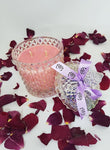 Strawberry and Champagne - Deluxe soy candle