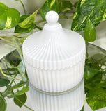 Carousel Scented Candle - White