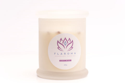 Rose & Lily Soy Wax Scented Handmade Candle in a Large Size Jar