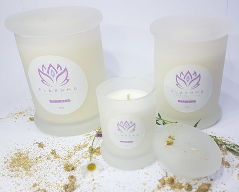 Soy Wax Candle - Grapefruit & Chamomile