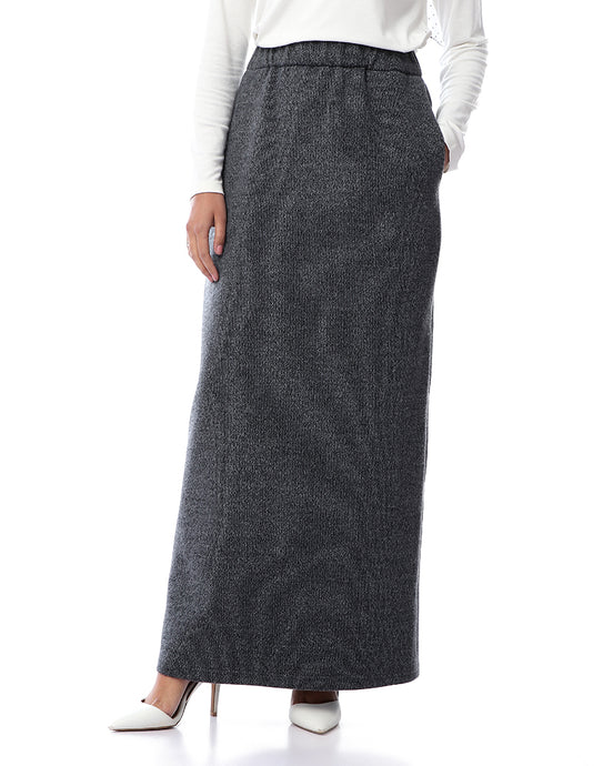 Winter Basic Skirt - Grey
