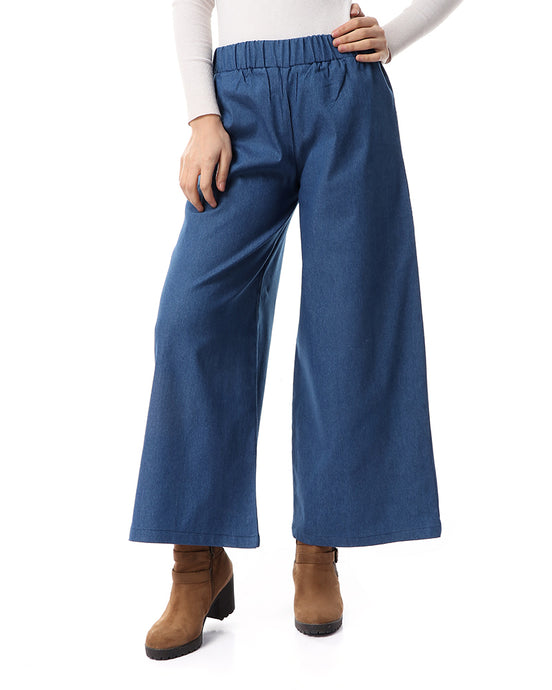 Jeans Pants without stripes - Light Blue