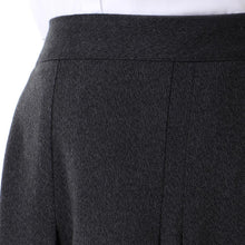Load image into Gallery viewer, Dark Grey Viyella  Pleated Skirt