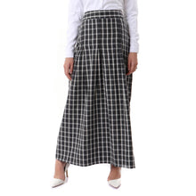 Load image into Gallery viewer, Carreaux Viyella  Pleated Skirt