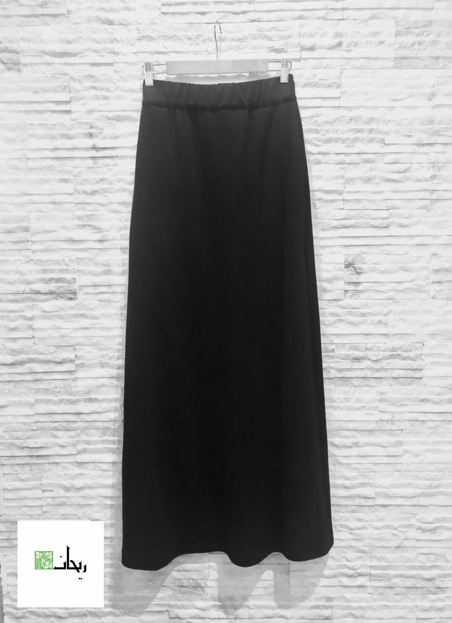 Winter Cashmere Skirt Black/ Grey