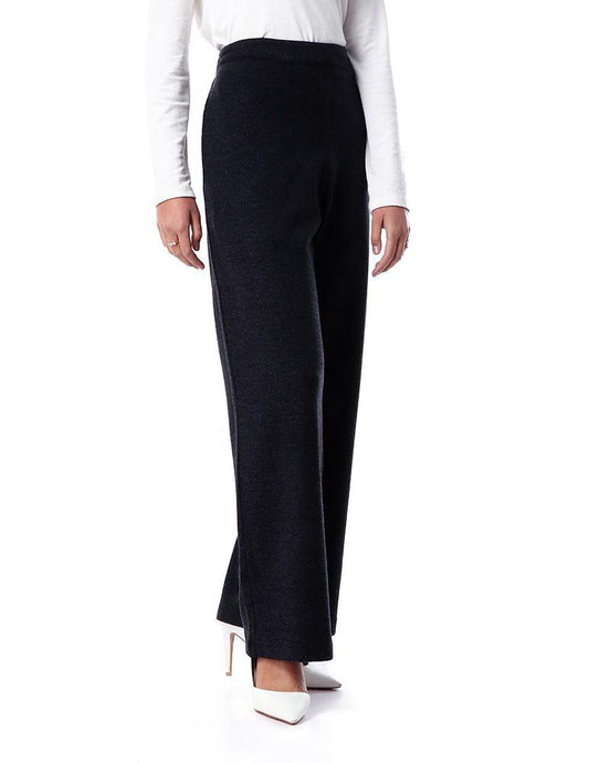 Cashmere pants - Grayish black