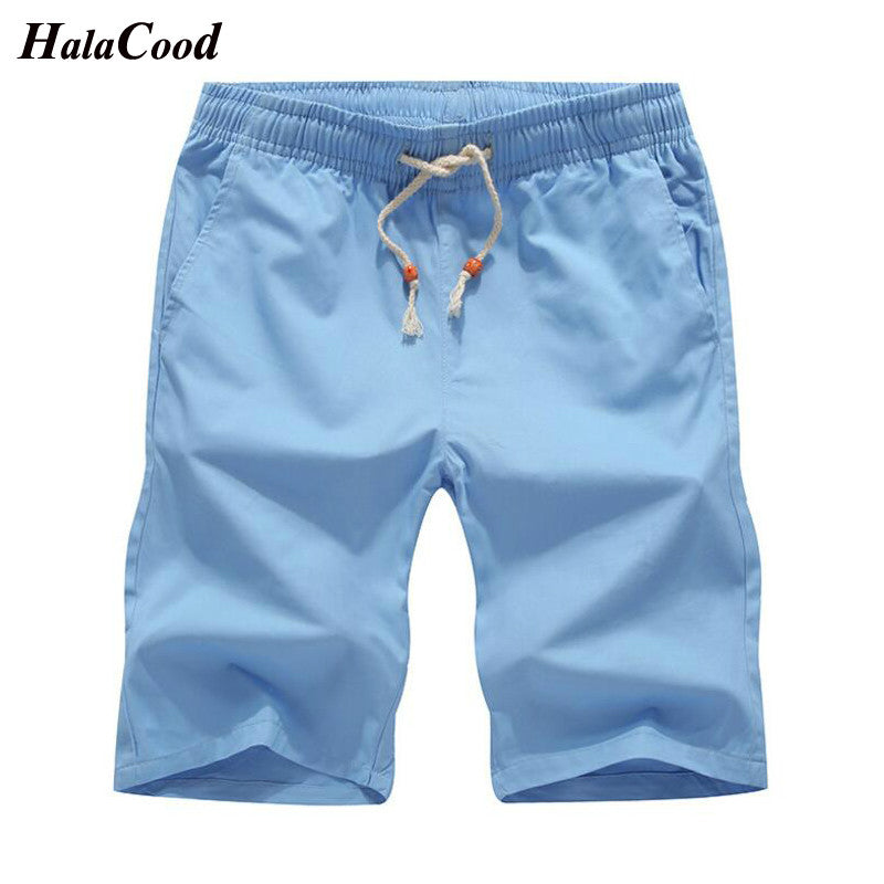 e3bbcfd8c3 Hot 2018 Newest Summer Casual Shorts Men's Cotton Fashion Style Man Shorts  Bermuda Beach Shorts Plus