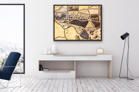 black-and-gold-texas-art-for-offices