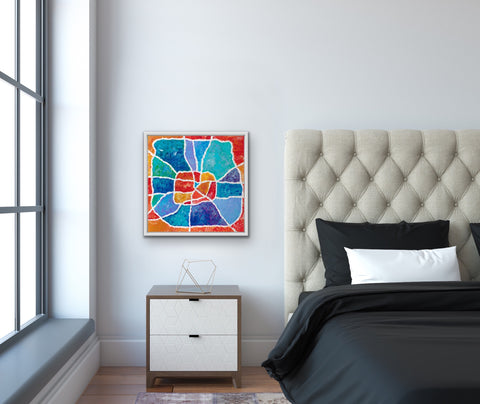 colorful-houston-bedroom-art