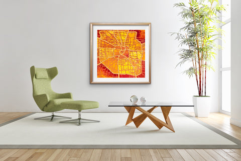 cool-houston-map-art