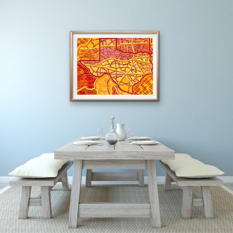 texas-dining-room-art