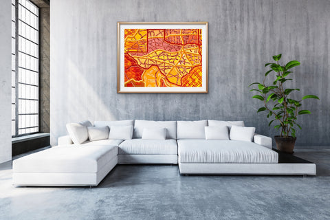 texas-map-artwork-for-living-rooms