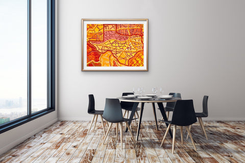 dining-room-texas-artwork